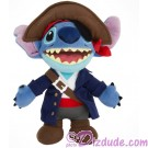 Pirate Captain Stitch 9 inch (23 cm) Plush ~ Pirate of the Caribbean © Dizdude.com