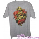 Pirates of The Caribbean Skull and Anchor Adult T-shirt