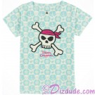 Pirate of The Caribbean Sublimated Skull & Crossbone Youth T-shirt (Tee, Tshirt or T shirt)