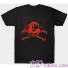 Pirates of the Caribbean Pirate Mickey Mouse and Cross Bones T-shirt
