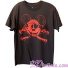 Pirate Mickey Mouse and Cross Bones Adult T-shirt (Tee, Tshirt or T shirt) ~ Disney Magic Kingdom