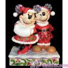 "Disney Traditions ~ Santa Mickey and Minnie in ""Holiday Duet"" by Artist Jim Shore © Dizdude.com"