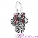 "Disney Pandora ""Sparkling Minnie Icon"" Sterling Silver Charm"
