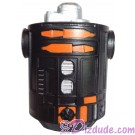 Black & Orange Astromech Droid Body ~ Series 2 from Disney Star Wars Build-A-Droid Factory