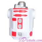 White & Red Astromech Droid Body ~ Series 2 from Disney Star Wars Build-A-Droid Factory