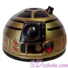 Gold & Black Astromech Droid Dome ~ Series 2 from Disney Star Wars Build-A-Droid Factory