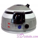 Gray White & Black Astromech Droid Dome ~ Series 2 from Disney Star Wars Build-A-Droid Factory