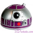 R2 Silver & Purple Astromech Droid Dome ~ Series 2 from Disney Star Wars Build-A-Droid Factory