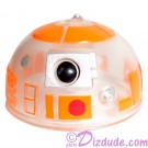 R3 Clear Orange Astromech Droid Dome ~ Series 2 from Disney Star Wars Build-A-Droid Factory