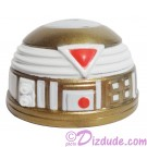 R7 White & Gold Astromech Droid Dome ~ Series 2 from Disney Star Wars Build-A-Droid Factory