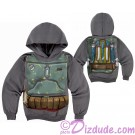 Disney Star Wars: Boba Fett Armour Youth Hoodie Printed Front & Back © Dizdude.com