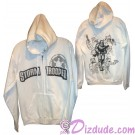 Stormtrooper Sketch Hoodie Adult Printed Front and Back - Disney Star Wars © Dizdude.com