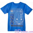 GLOW IN THE DARK ~ Rogue One K-2SO Rebel Forces Tactical Droid Youth T-Shirt (Tshirt, T shirt or Tee) - Disney's Star Wars © Dizdude.com