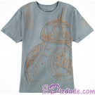 BB-8 Sketch Adult T-Shirt (Tshirt, T shirt or Tee) - Disney's Star Wars The Force Awakens  © Dizdude.com