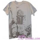Boba Fett Sarlacc Bait Adult T-Shirt (Tshirt, T shirt or Tee) - Disney's Star Wars © Dizdude.com