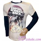 Disney Star Wars Empire Strikes Back Long Sleeved Adult T-Shirt (Tshirt, T shirt or Tee) © Dizdude.com