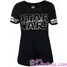 Disney Star Wars Foil Logo Lounge Adult T-shirt (Tee, Tshirt or T shirt) © Dizdude.com