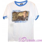 "Disney's Star Wars The Force Awakens Chewie and Han ""Chewie We're Home"" Adult T-Shirt (Tshirt, T shirt or Tee) © Dizdude.com"