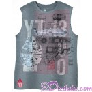 Disney Star Wars Millennium Falcon Sleeveless T-shirt (Tshirt, T shirt or Tee) © Dizdude.com