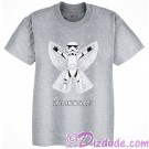 Stormtrooper Snow Angle Up To Snow Good! Christmas Holiday Youth T-Shirt (Tshirt, T shirt or Tee) Disney Star Wars © Dizdude.com