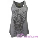Chewbacca Wookiee Hair Adult Tank Top - Disney Star Wars © Dizdude.com