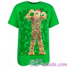Disney Star Wars Chewbacca Wookiee Tree Holiday Adult T-Shirt (Tshirt, T shirt or Tee) © Dizdude.com