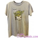"Yoda ""Patience You Must Have"" Adult T-Shirt (Tshirt, T shirt or Tee) - Disney Star Wars © Dizdude.com"