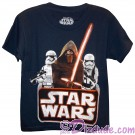 Badge Bunch Youth T-Shirt (Tshirt, T shirt or Tee) from Disney Star Wars: The Force Awakens © Dizdude.com