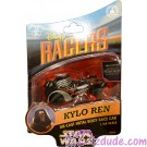 Star Wars The Force Awakens Disney Racer Kylo Ren die cast metal body race car
