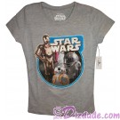 Droids Junior T-Shirt (Tshirt, T shirt or Tee) from Disney Star Wars: The Force Awakens © Dizdude.com