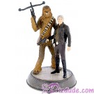 Han Solo & Chewbacca Light Up Medium Big Fig - Disney Star Wars Exclusive © Dizdude.com