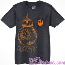 BB-8 Sketch Youth T-Shirt (Tshirt, T shirt or Tee) - Disney Star Wars The Force Awakens  © Dizdude.com