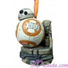 BB-8 Light Up Christmas Ornament - Sketchbook Ornament Collection ~ Disney Star Wars: The Force Awakens © Dizdude.com
