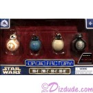 Star Wars VIII: The Last Jedi 4 Droid set - Disney World Astromech DROID FACTORY Action Figures 3¾ Inch 4 Droid Multi-Pack with BB-8 • 2BB-2 • BB-4 • BB9E © Dizdude.com