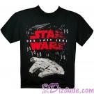 Disney Star Wars Episode VIII: The Last Jedi Space Battle Youth T-Shirt (Tshirt, T shirt or Tee) © Dizdude.com
