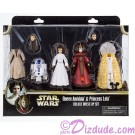 Disney Star Wars Queen Amidala and Princess Leia Deluxe Fashion Play Set © Dizdude.com