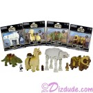 Set of all Four Motorized Walking Action Figures ~ Disney World Star Wars Exclusive - Not available elsewhere