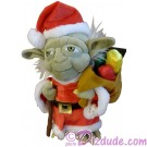 9 inch Santa Yoda a Disney Star Wars Christmas Plush ~ Limited Release