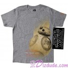 Official Disney Star Wars Episode VIII: The Last Jedi - Exclusive - BB-8 Youth T-Shirt (Tshirt, T shirt or Tee) © Dizdude.com