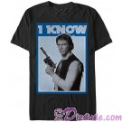 Star Wars Han Solo Famous Love Quote I Know Adult Companion T-Shirt