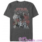 Character Group Picture Adult T-Shirt (Tshirt, T shirt or Tee) Star Wars: The Last Jedi