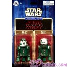 Star Wars The Last Jedi Twin Pack R4-X2 & Y5-X2 Astromech Droids - Disney World DROID FACTORY Action Figures 3¾ Inch