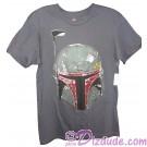 Disney Star Wars Boba Fett Helmet Adult T-Shirt © Dizdude.com