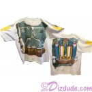 Disney Star Wars: Boba Fett Armour T-Shirt (Tshirt, T shirt or Tee) Printed Front & Back © Dizdude.com