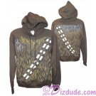 Disney Star Wars: Chewbacca Adult Hoodie Printed Front & Back © Dizdude.com