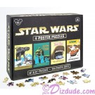 Star Wars four 500 Piece Poster Puzzles