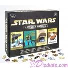 Disney Star Wars Four 500 Piece Poster Puzzles © Dizdude.com