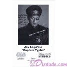 Jay Laga'aia who played Captain Gregar Typho Presigned Official Star Wars Weekends 2007 Celebrity Collector Photo © Dizdude.com