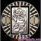 """Donald as Hans Solo in Carbonite Spinner Pin """"Front"""""""
