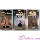 Disney Star Wars Weekends 2012 Complete Set of all 3 Action Figures Released during the event